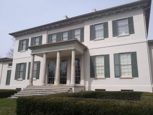 PG County Painting and Handyman historical painting job called Riversdale Mansion.