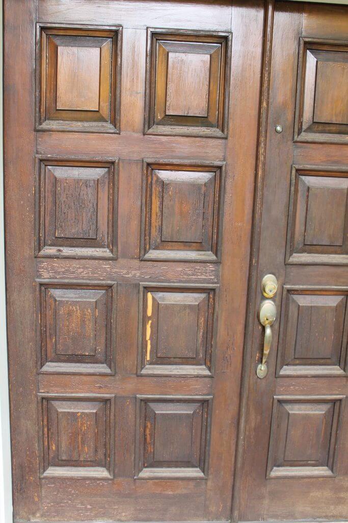 repairing exterior front doors