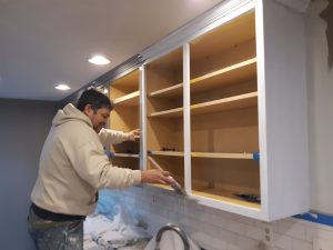 PG County Painting and Handyman painting kitchen cabinets