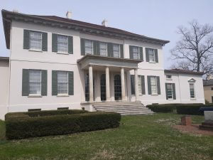 Painters in Anne Arundel County were asked to paint the Riversdale Mansion