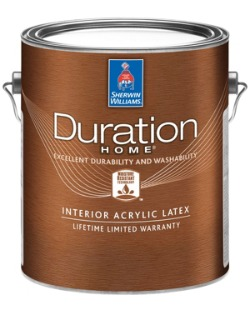 What interior flat paint covers the best is why we tested this can of Duration