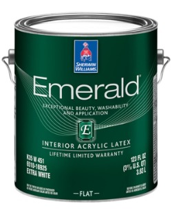 What interior flat covers the best? We tested this can of Emerald Flat