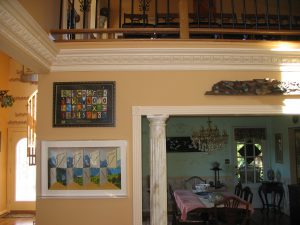 Painting contractor in Fairfax painting beautiful room