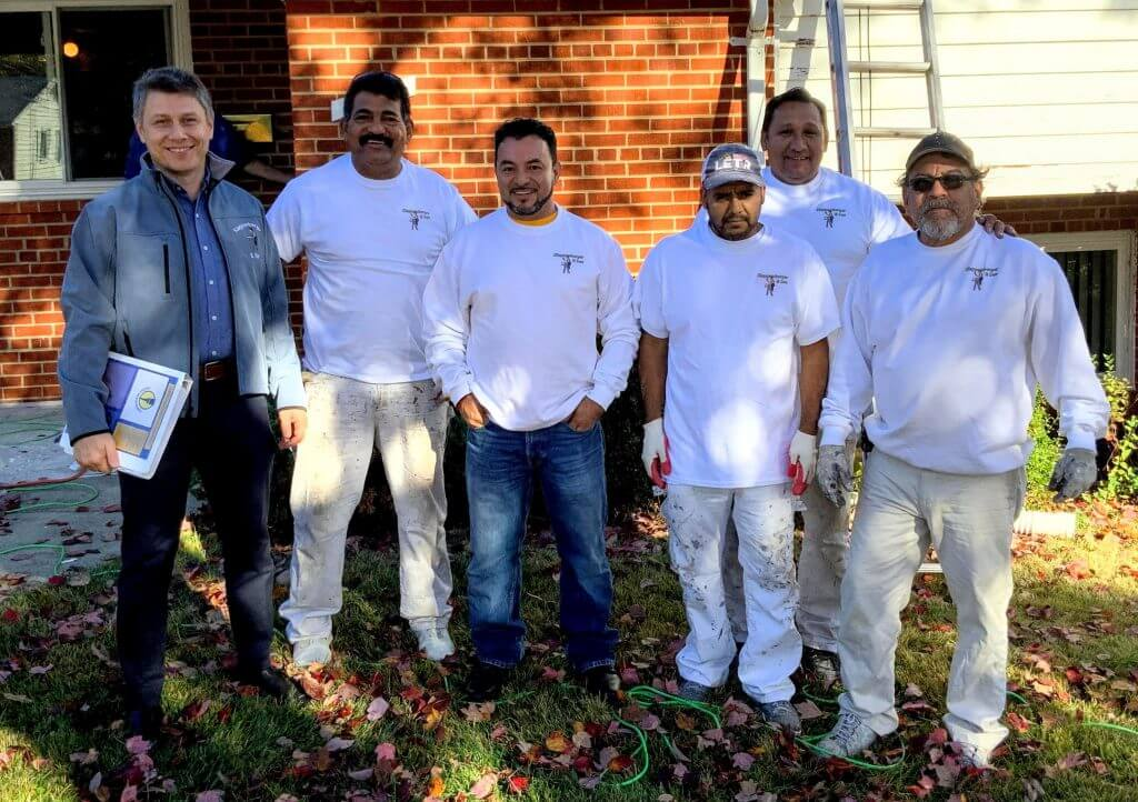 exterior painting company in Montgomery County MD