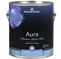 Aura Paint Can. Which Ben Moore White Semi-gloss covers the best. Aura?