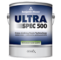 Can of Ultra Spec paint to help determine which white semi-gloss paint covers the best