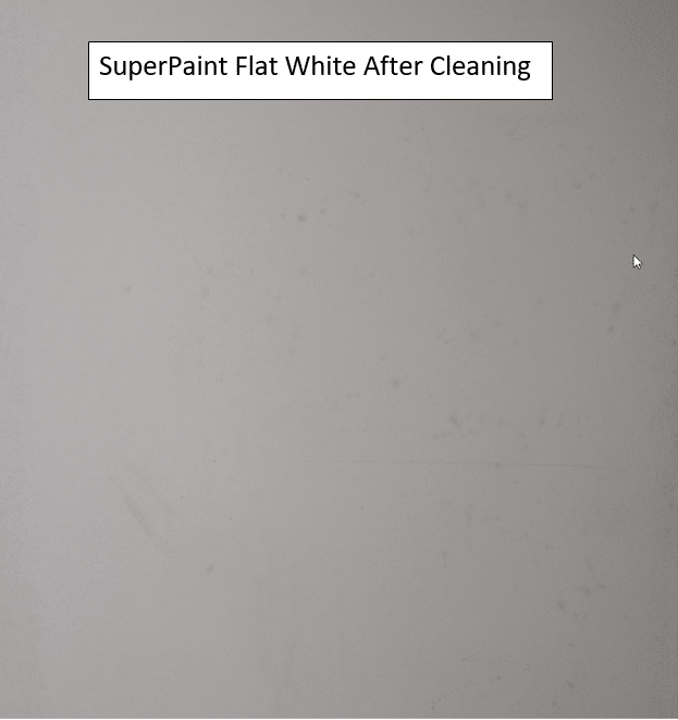 Who has the best washable flat paint? Not SuperPaint by SW