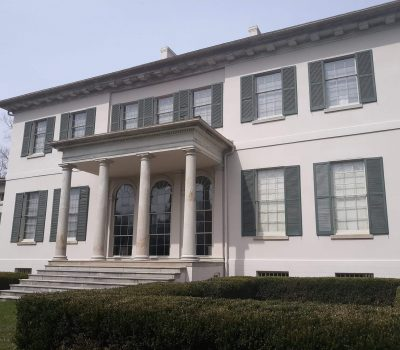 Howard County Painting and Handyman historical painting job called Riversdale Mansion.
