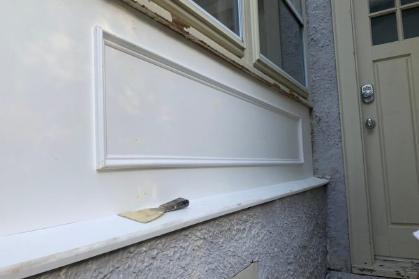 Rotten wood replacement by Klappenberger & Son