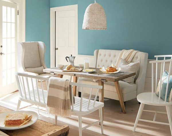 Interior Painting new ben Moore color 2021