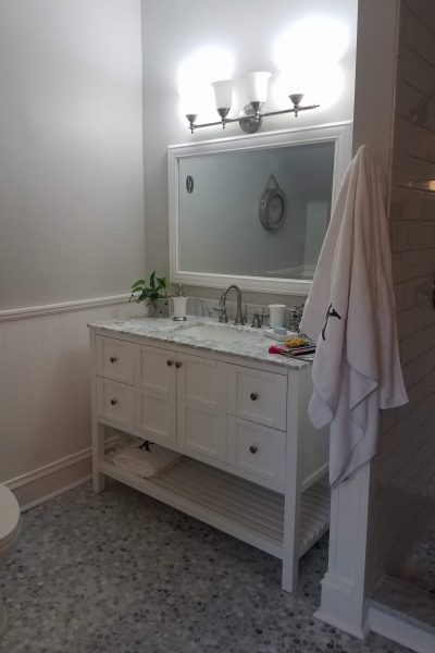 General Handyman services like this completed bathroom remodel