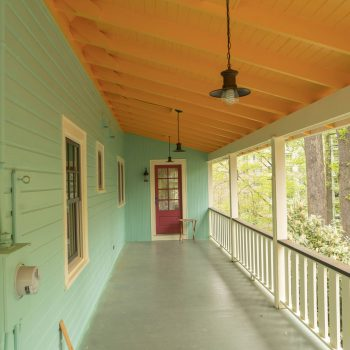 Klappenberger & Son is an exterior painting company in Bethesda MD and this is a picture of a finished porch