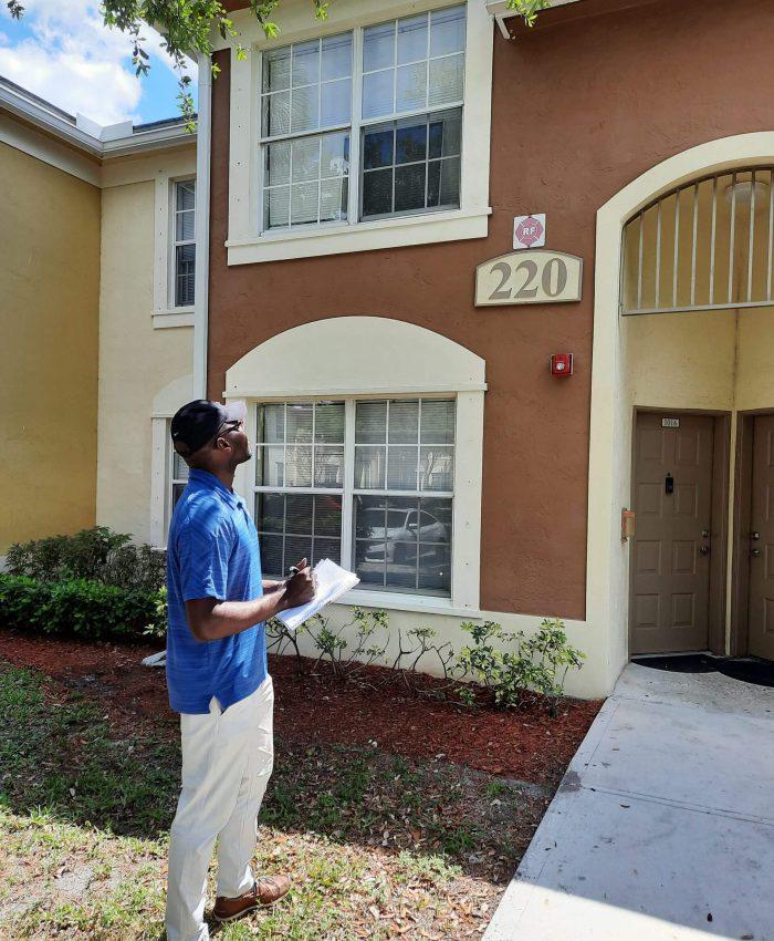 Rasheed estimating exterior painting job