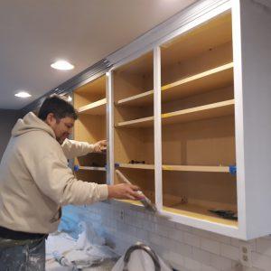 cabinet Painting, Klappenberger & Son painter painting kitchen cabinets